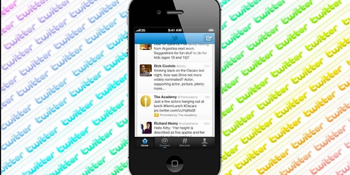 """Twitter anuncia que mensajes """"promocionados"""" aparecerán desde hoy en apps de iOS y Android"""