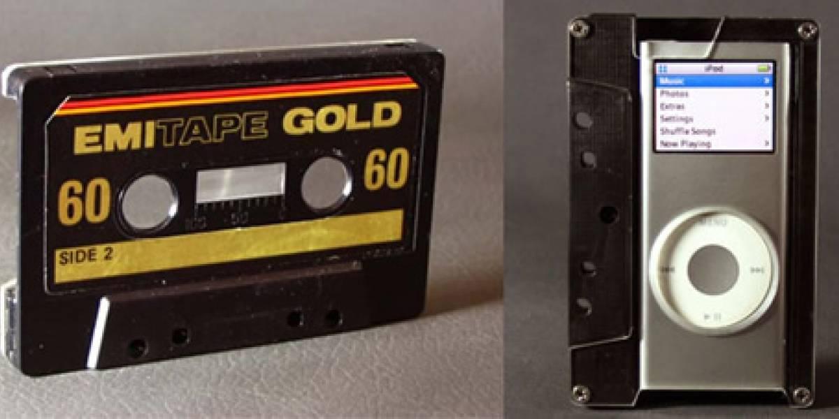 Casette-Estuche para iPod Nano: Más 80 que en los ochentas