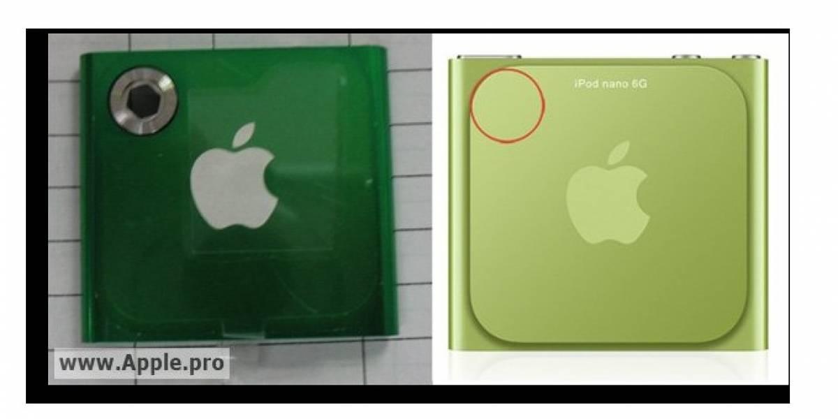 iPod Nano 7G tendría cámara