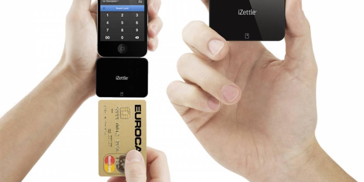 iZettle, un lector para tarjetas con chip