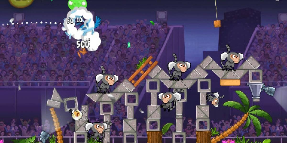 Angry Birds Rio es actualizado con 15 nuevos niveles para iOS