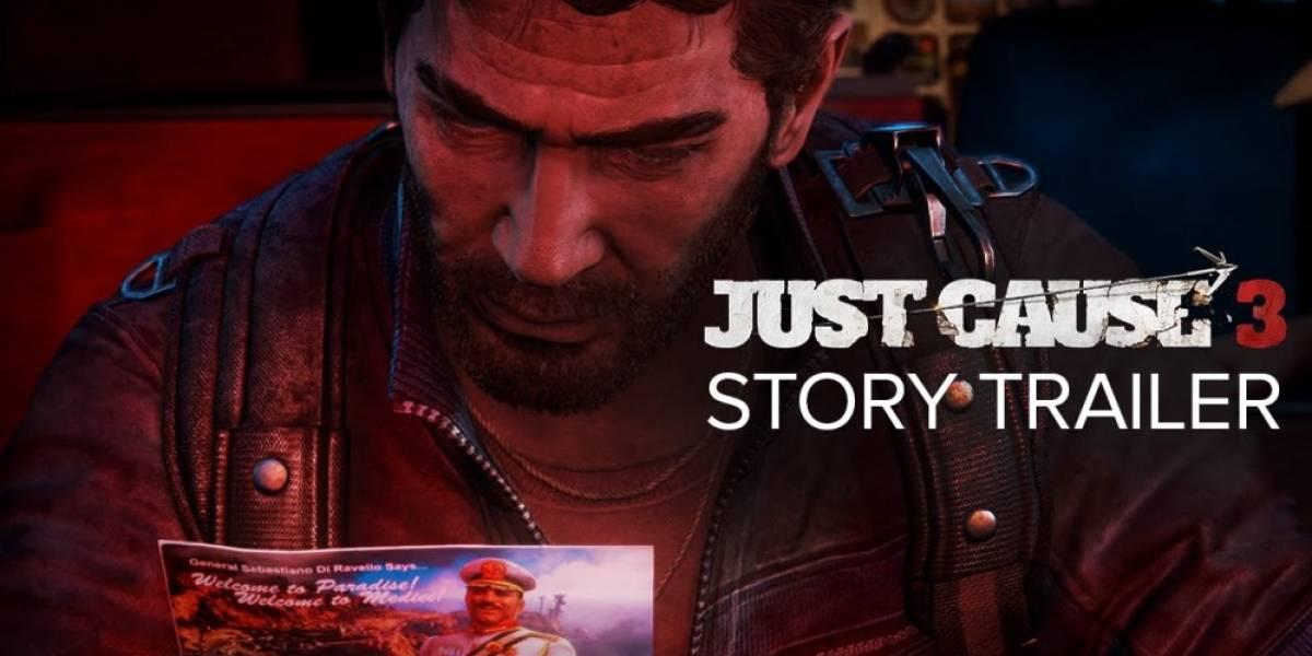 Just Cause 3 recibe tráiler centrado en su historia