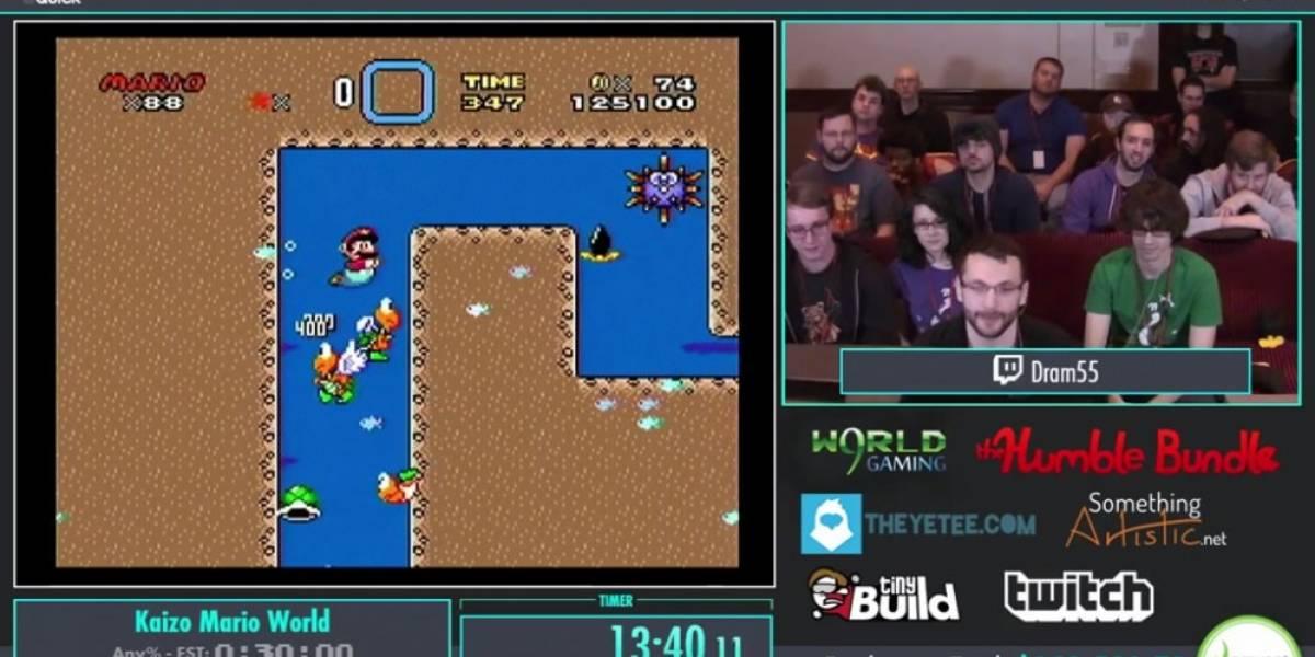 Mira a este speedrunner acabar con uno de los mods más difíciles de Super Mario World