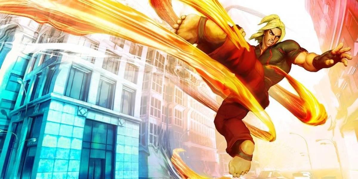 Ken estará también en Street Fighter V