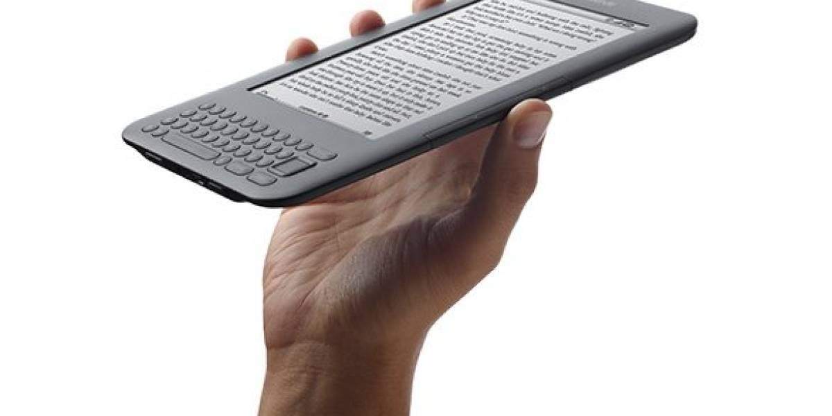 Amazon comenzó envío de Kindle 3 a dos días del estreno oficial