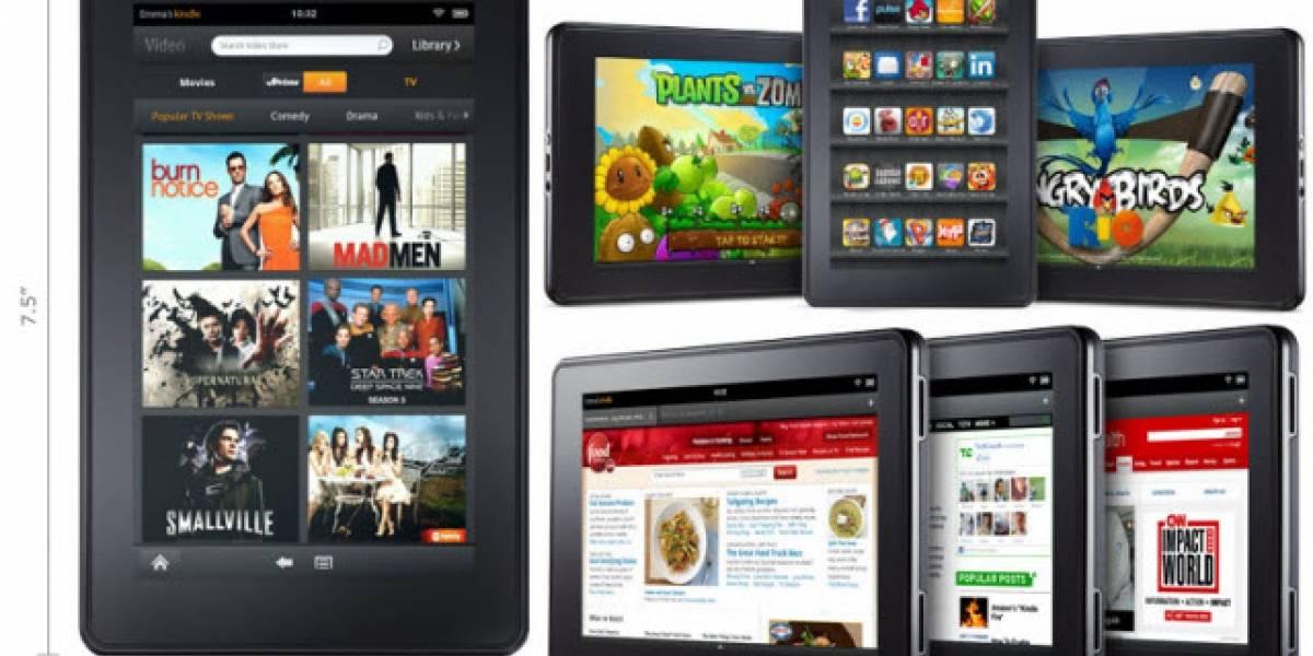 Chile: Amazon Kindle Fire llega a las vitrinas nacionales