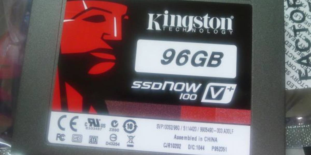 Kingston SSDNow 100V+ 96GB