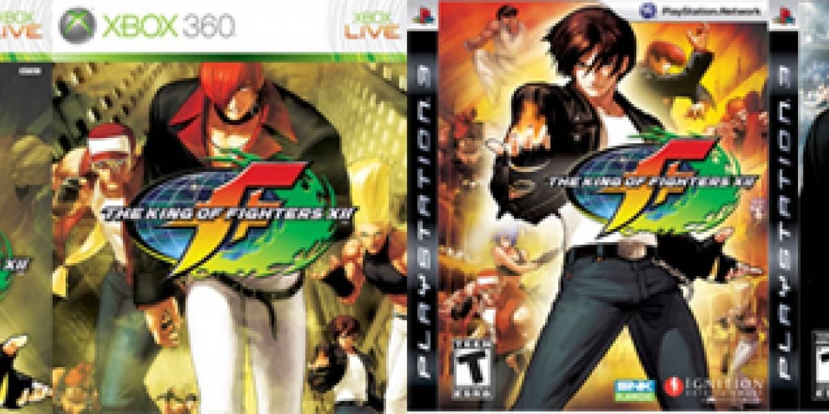 Ayuda a elegir la portada para The King of Fighters XII