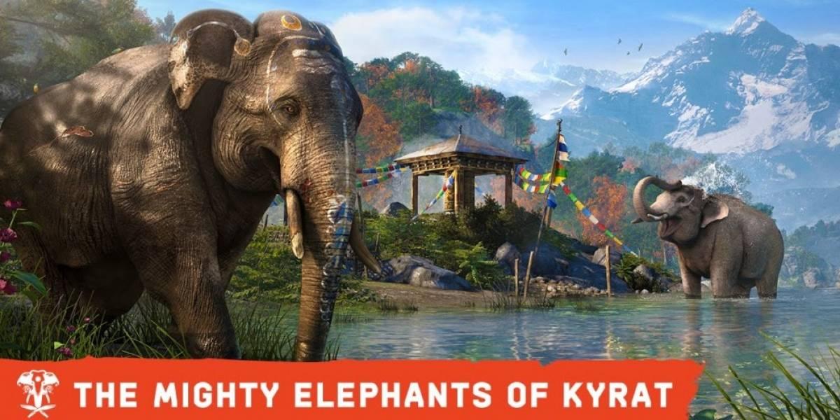 Los elefantes serán máquinas asesinas en Far Cry 4