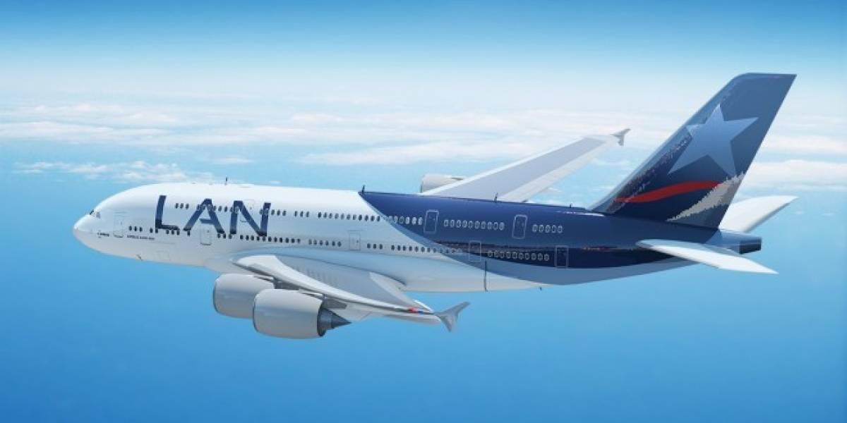 LAN pide más espectro a Subtel para ofrecer conectividad inalámbrica en sus aviones