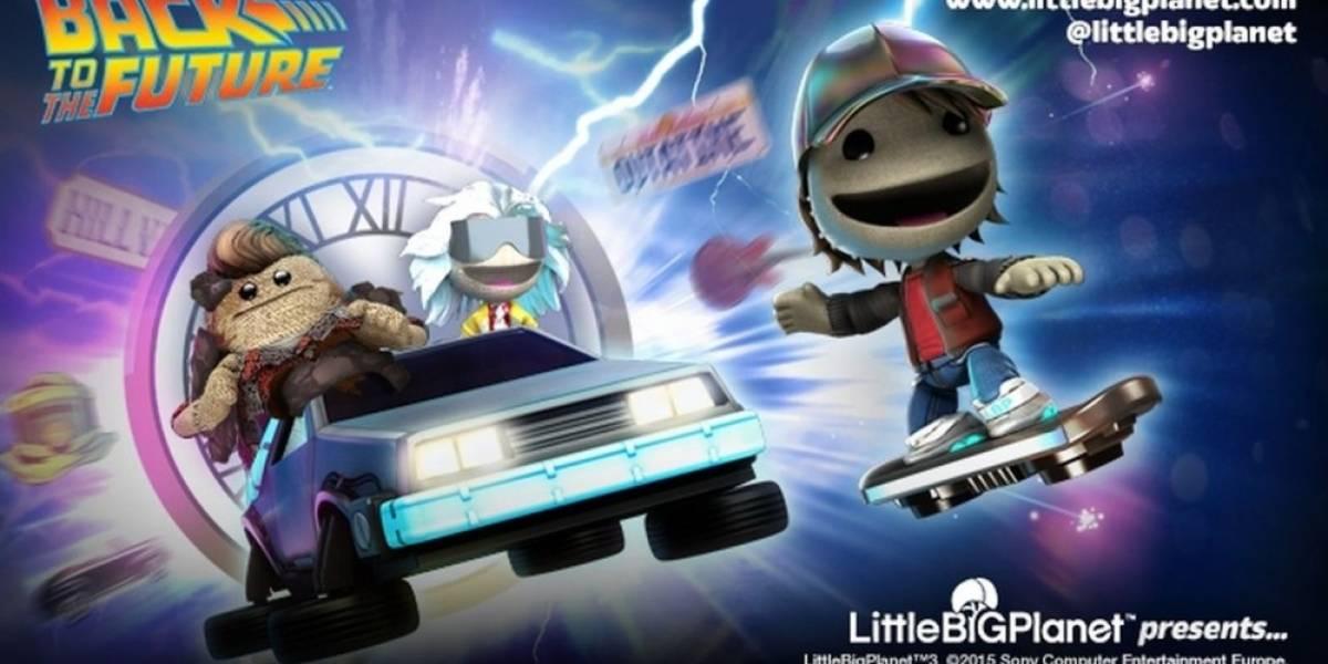LittleBigPlanet 3 y Rocket League reciben contenido de Back to the Future