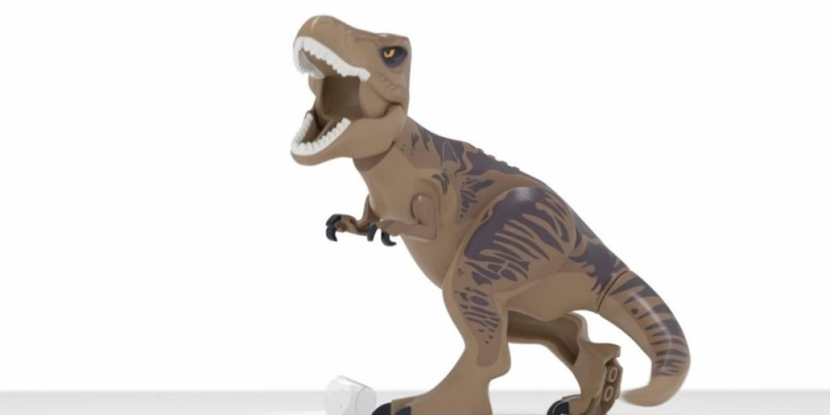 Divertido teaser tráiler de LEGO Jurassic World