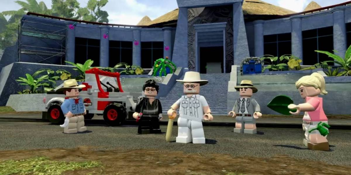 Primer tráiler de LEGO Jurassic World