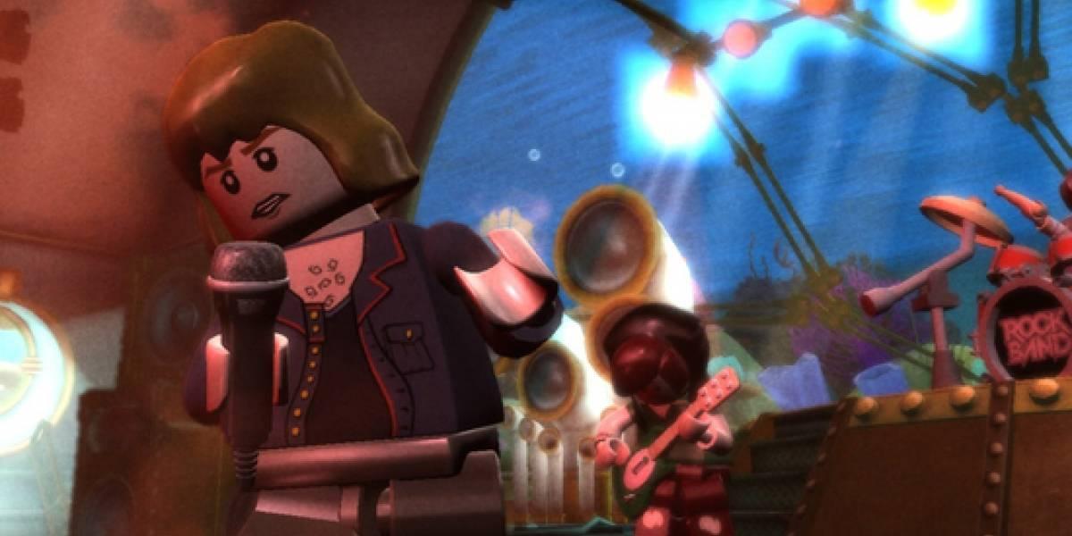 Harmonix confirma el lanzamiento de LEGO: Rock Band