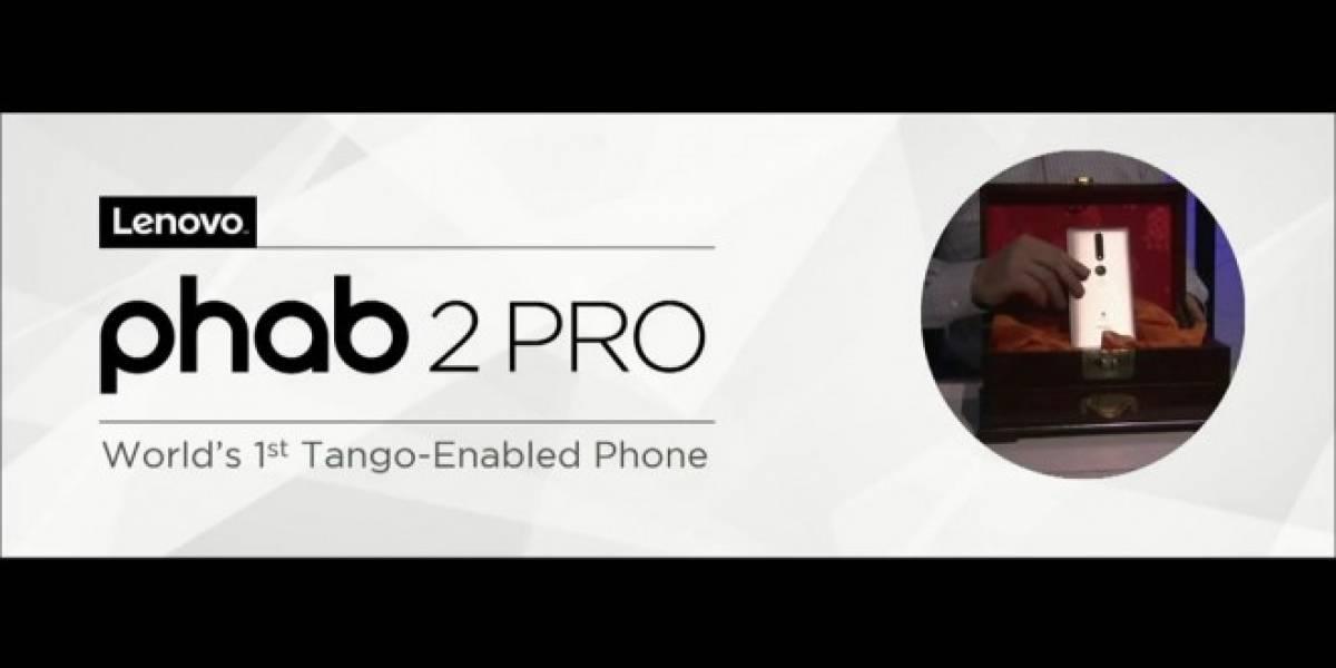 Lenovo presentó el Phab 2 Pro, el primer celular con Google Tango