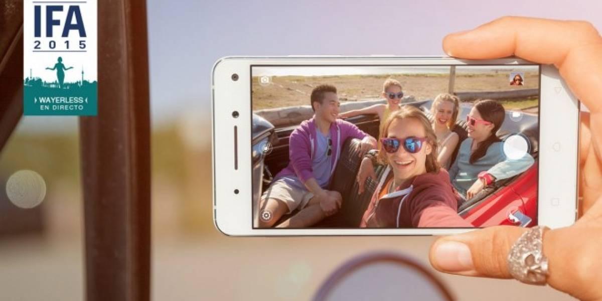 Lenovo Vibe S1: el primer smartphone con doble cámara frontal para selfies #IFA15