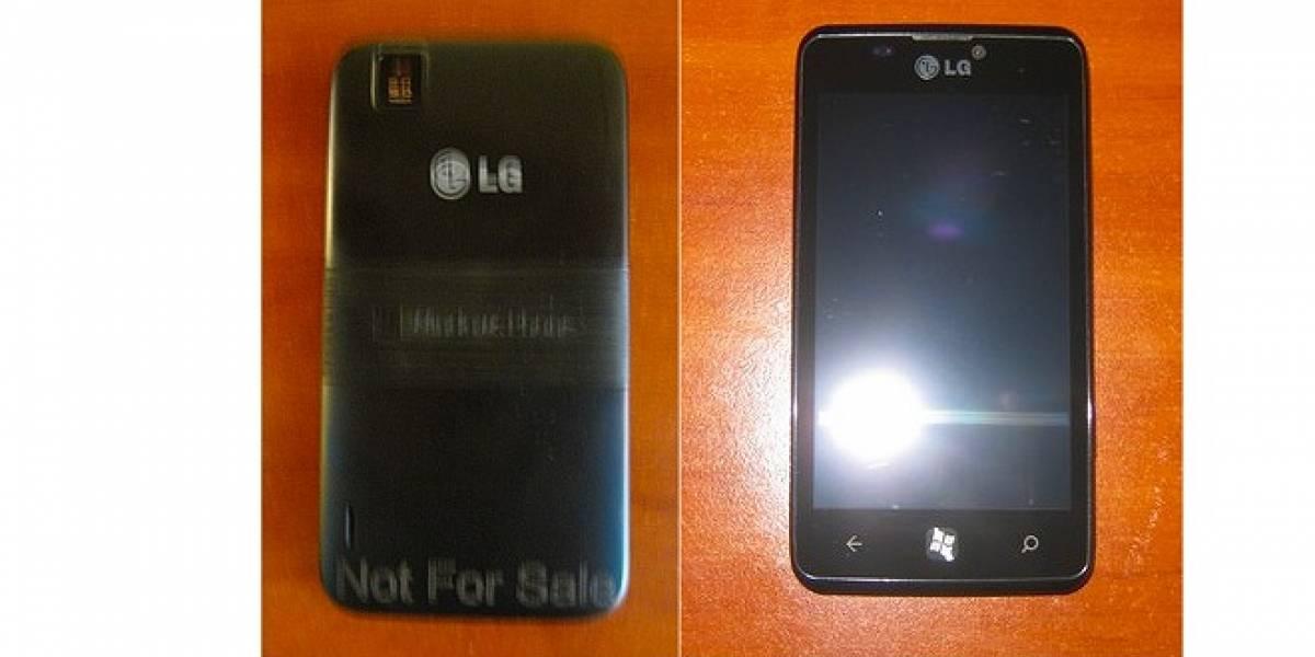 Primeras imágenes del LG Fantasy con Windows Phone 7.5