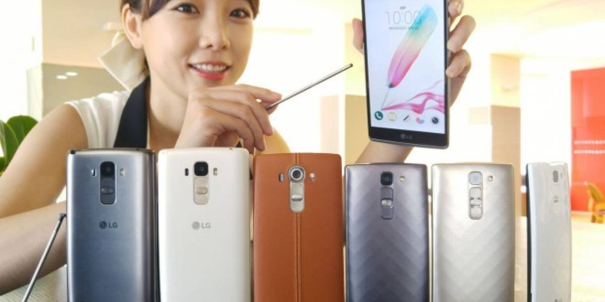 LG presenta sus G4 Beat, G4 Stylus y LG Max en México