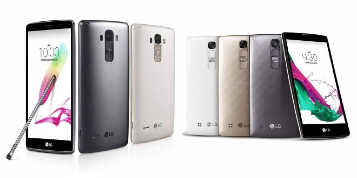 LG anuncia los nuevos teléfonos gama media G4c y G4 Stylus de la familia G4