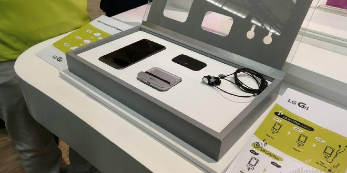 LG quiere ver más módulos creativos en el G5