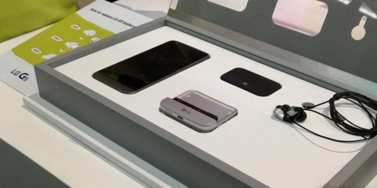 El DAC del LG G5 funcionaría en dispositivos con puerto USB-C