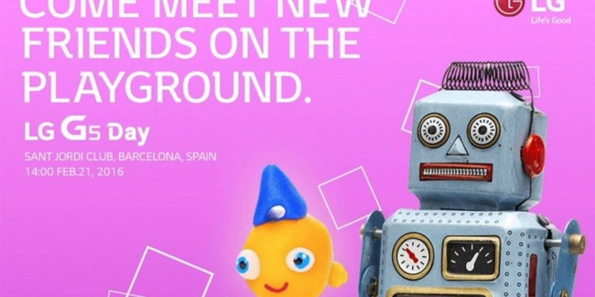 Es oficial: LG presentará el G5 en Mobile World Congress