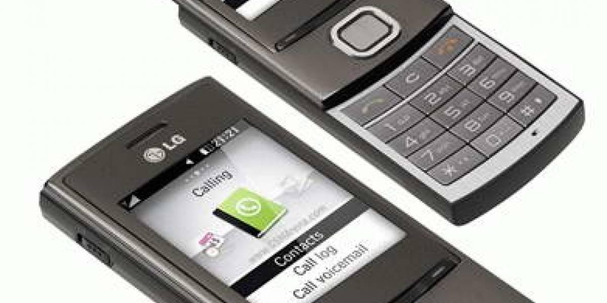 LG GD550, un móvil deslizante y metálico