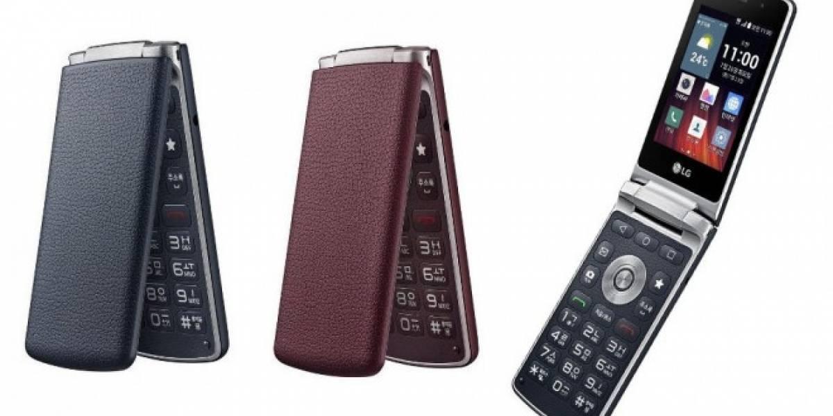 LG Gentle es un celular tipo almeja con Android Lollipop