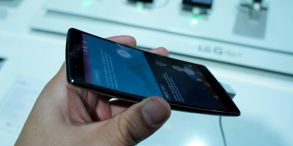 LG estaría trabajando en otro teléfono con pantalla curva