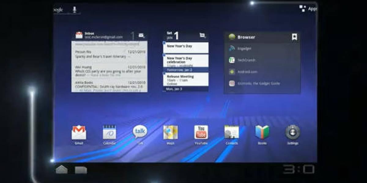 CES 2011: T-Mobile nos da un paseo por Android 3.0 en el G-Slate de LG (Videos)