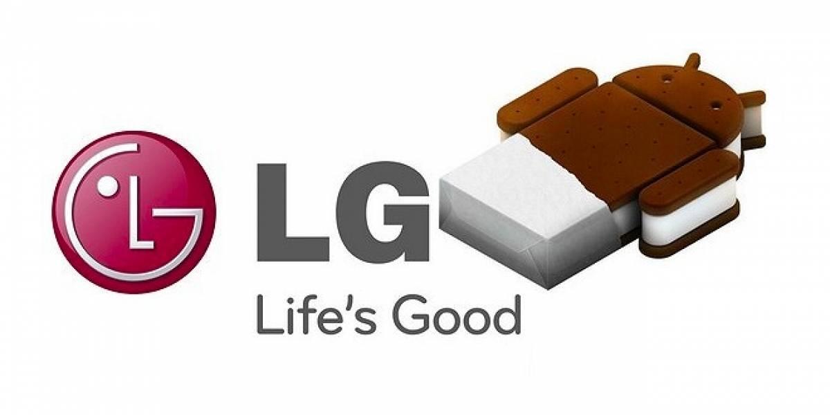 LG anuncia qué equipos serán actualizados a Ice Cream Sandwich y cuándo lo hará