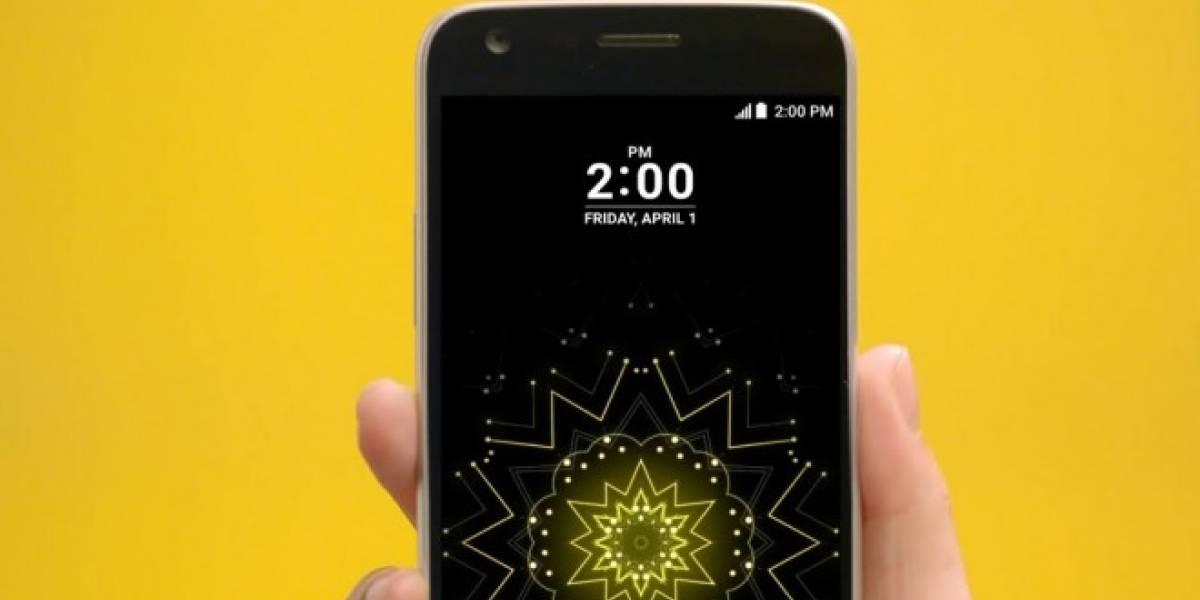 Así luce la interfaz UX 5.0 del LG G5