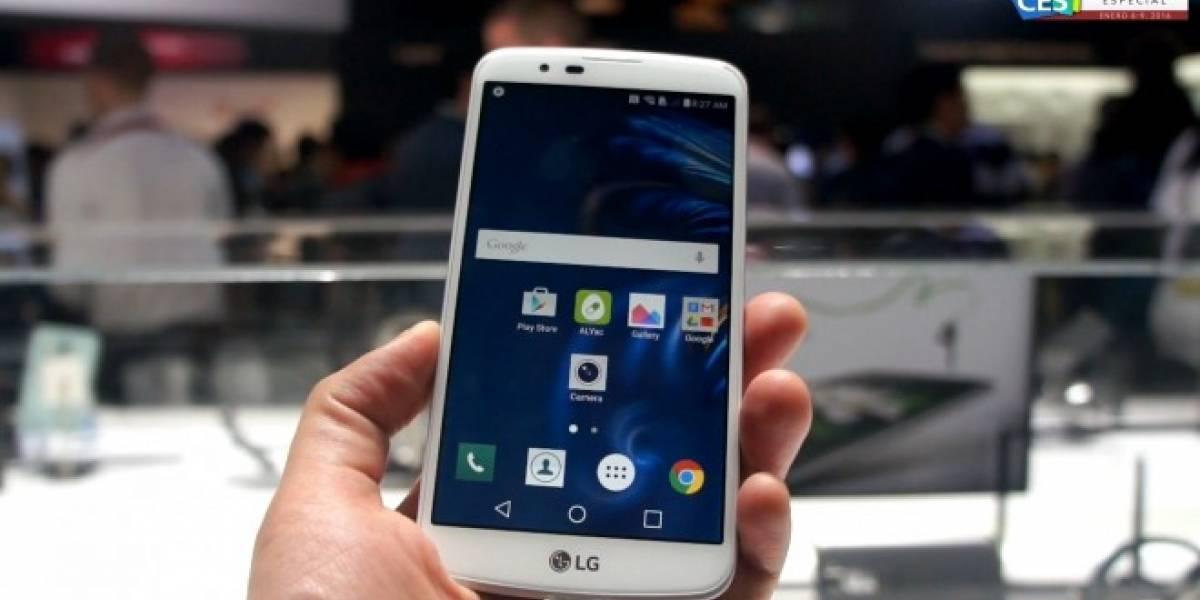 LG K10 a primera vista #CES2016