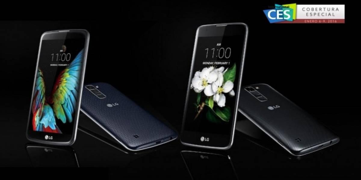 LG K7 y LG K10, los nuevos relevos de la serie L #CES2016