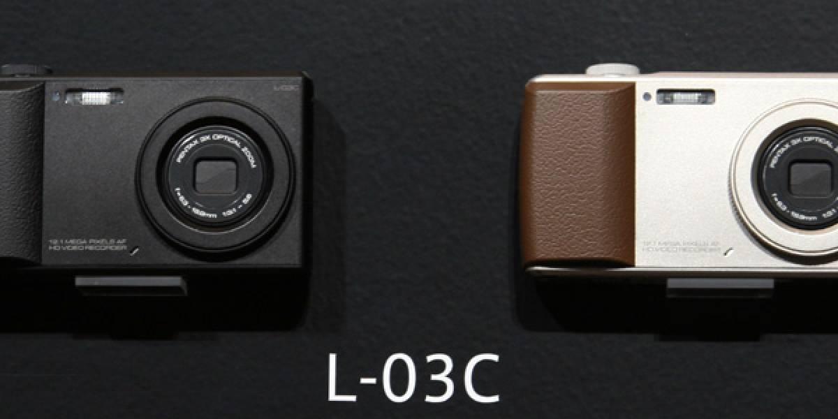 LG L-03C, la primera cámara - teléfono