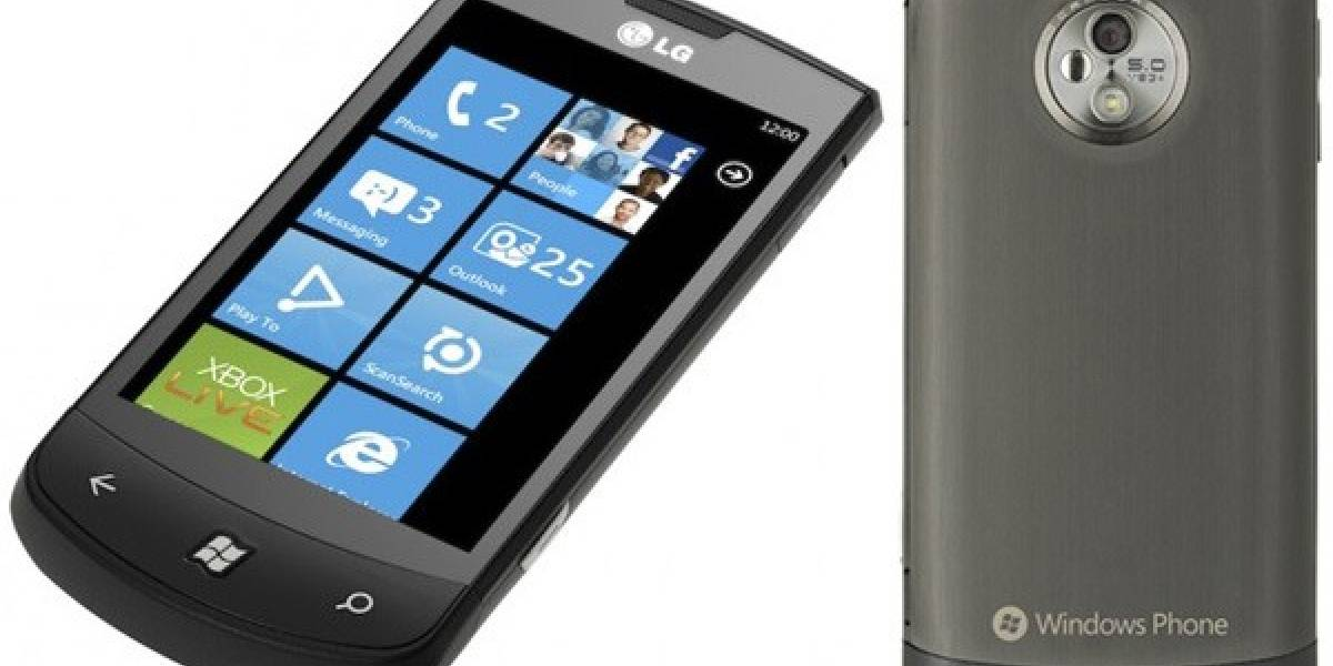LG Optimus 7 se filtra antes del lanzamiento de Windows Phone 7