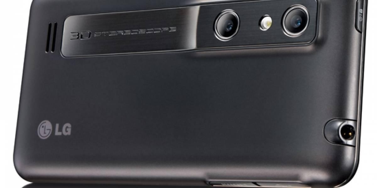 El LG Optimus 3D llegó a España de la mano de Vodafone