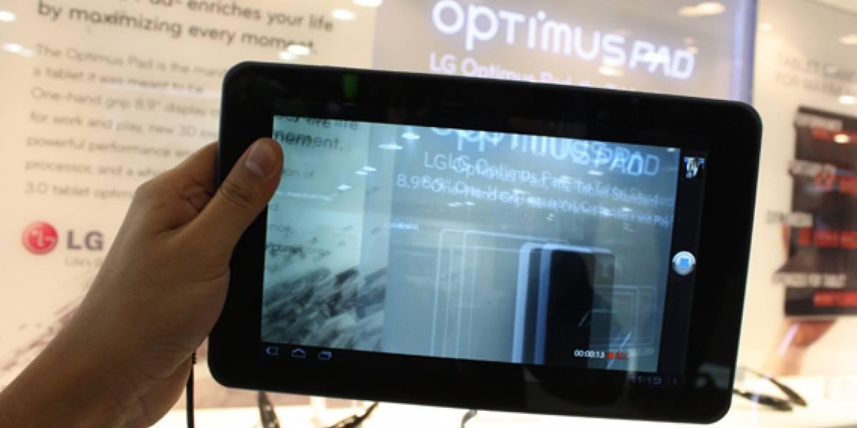 MWC2011: LG Optimus Pad A Primera Vista