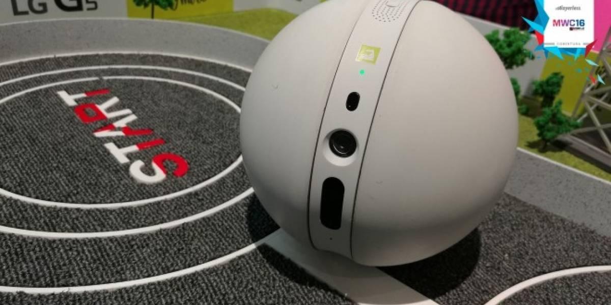 Rolling Bot de LG A Primera Vista #MWC16