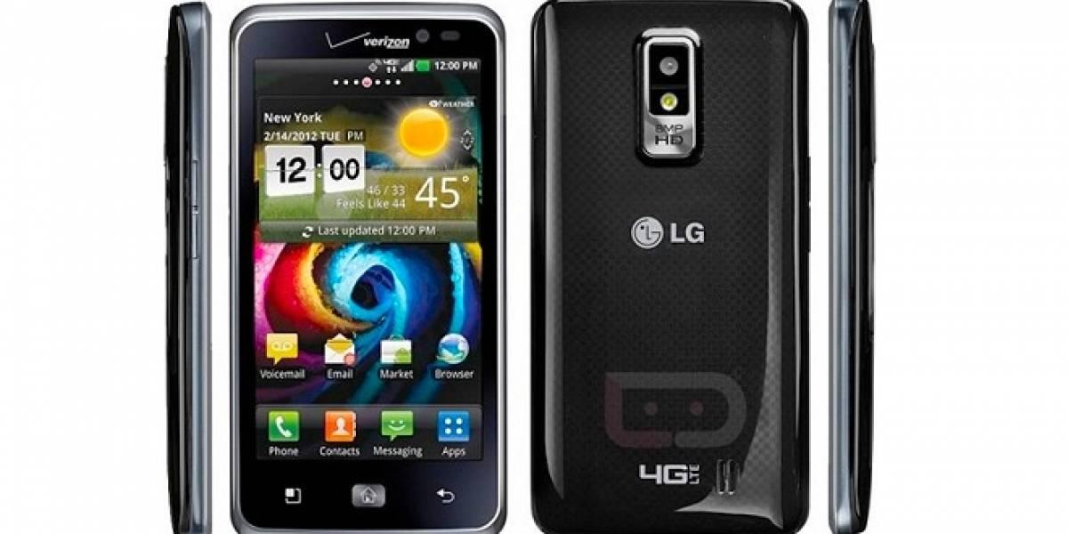 Nuevo LG Spectrum: Pantalla HD de 4,5 pulgadas y CPU a 1,5 GHz