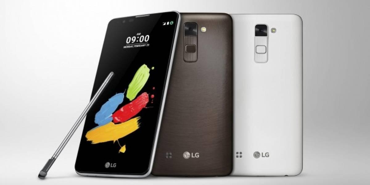 LG Stylus 2 es otro gama media que estará presente en MWC 2016