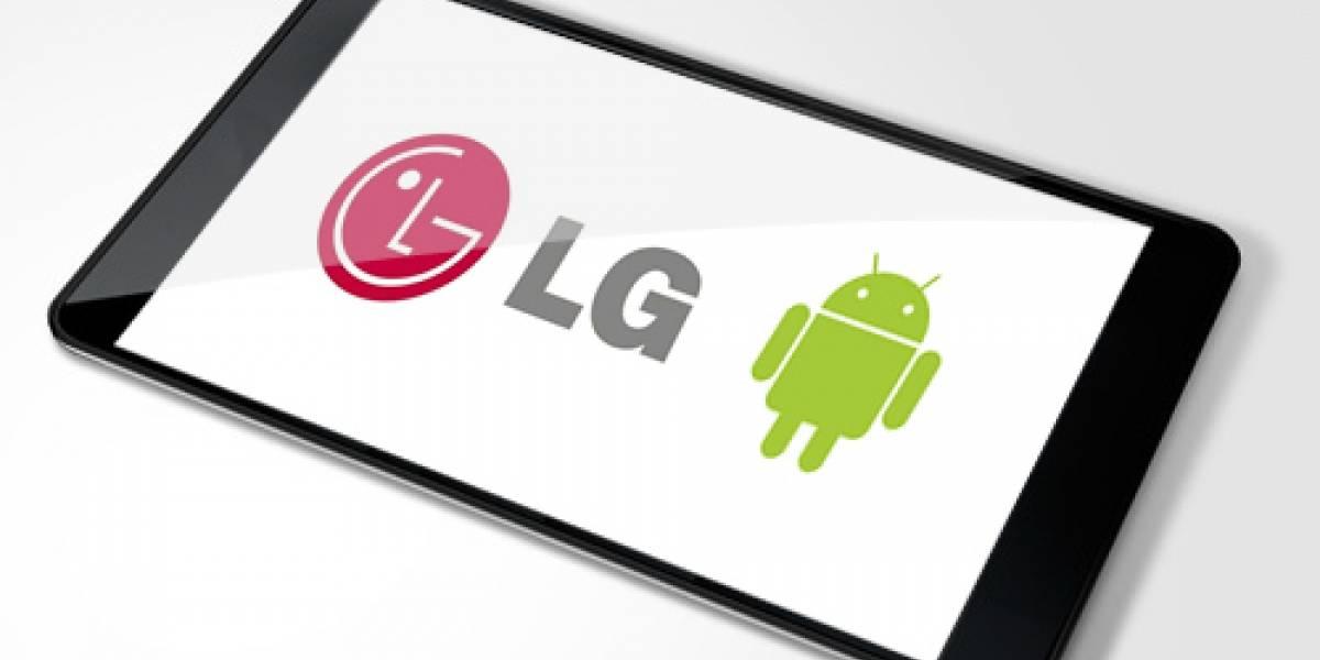 Según LG, su tablet será mejor que el iPad