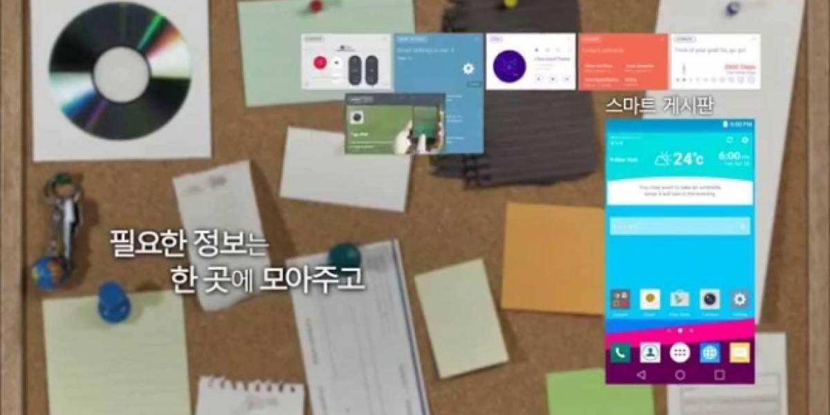 LG ofrece el primer vistazo a la interfaz UX 4.0