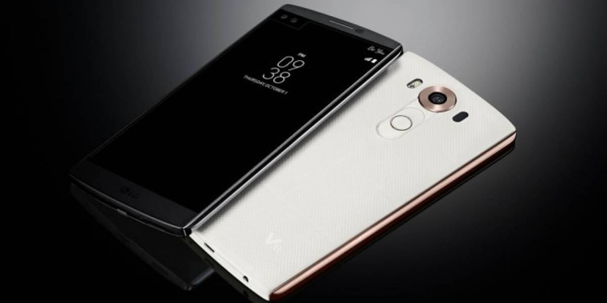 LG V10 ya está disponible en Chile