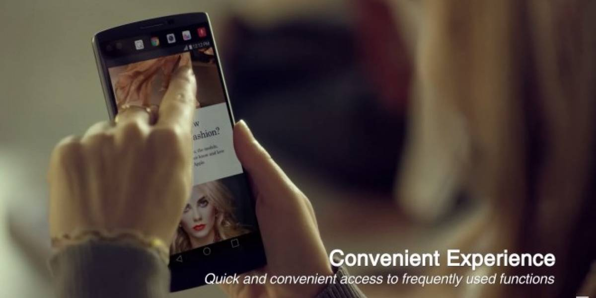 Así será la interfaz UX 4.0+ en el LG V10