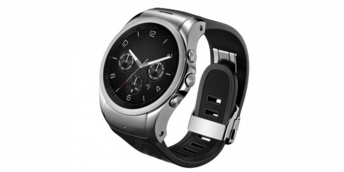 LG anuncia nueva versión del Watch Urbane con LTE, NFC y GPS