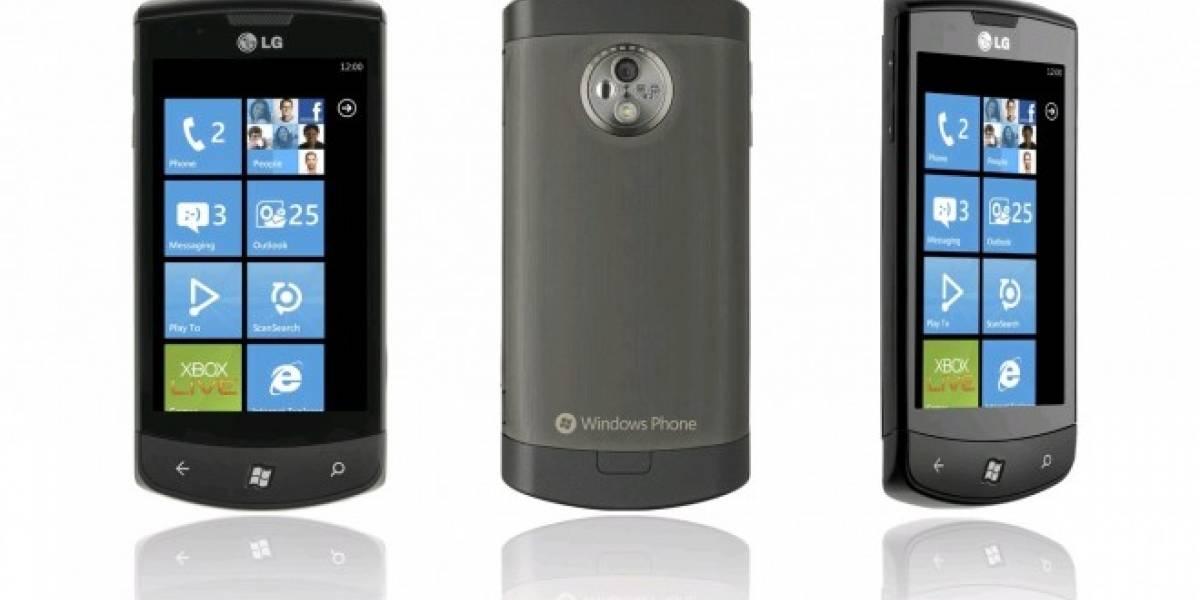LG está desarrollando un teléfono con Windows Phone