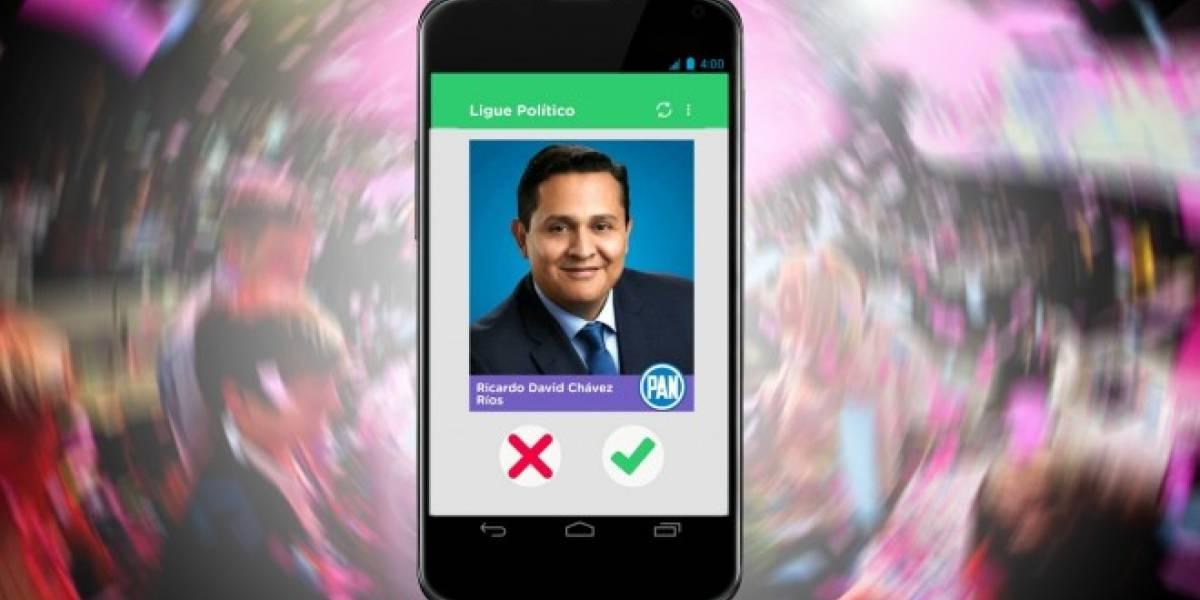 Ligue Político, el Tinder de los candidatos a diputados en México