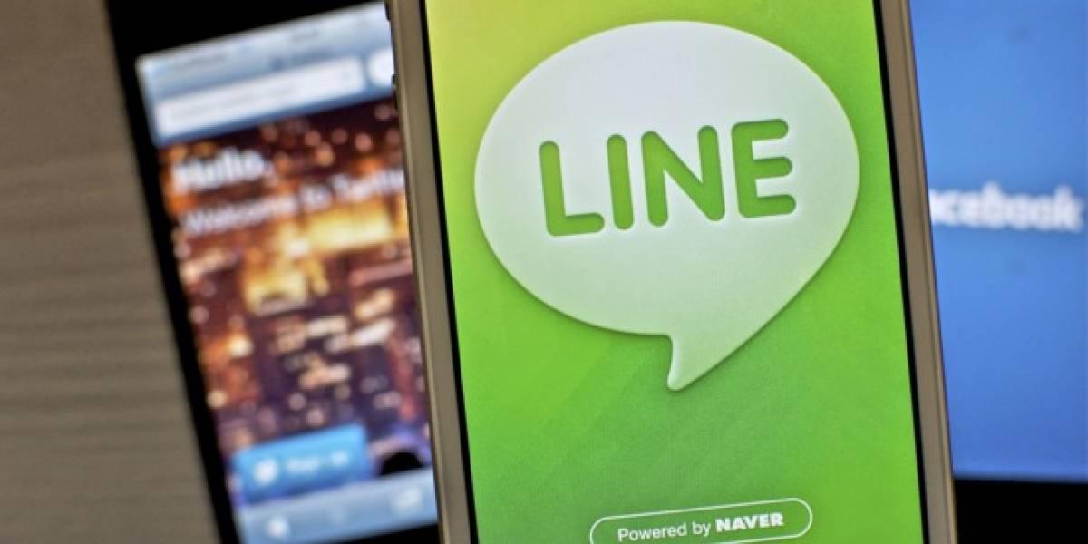 LINE obtiene 338 millones de dólares en ingresos en 2013