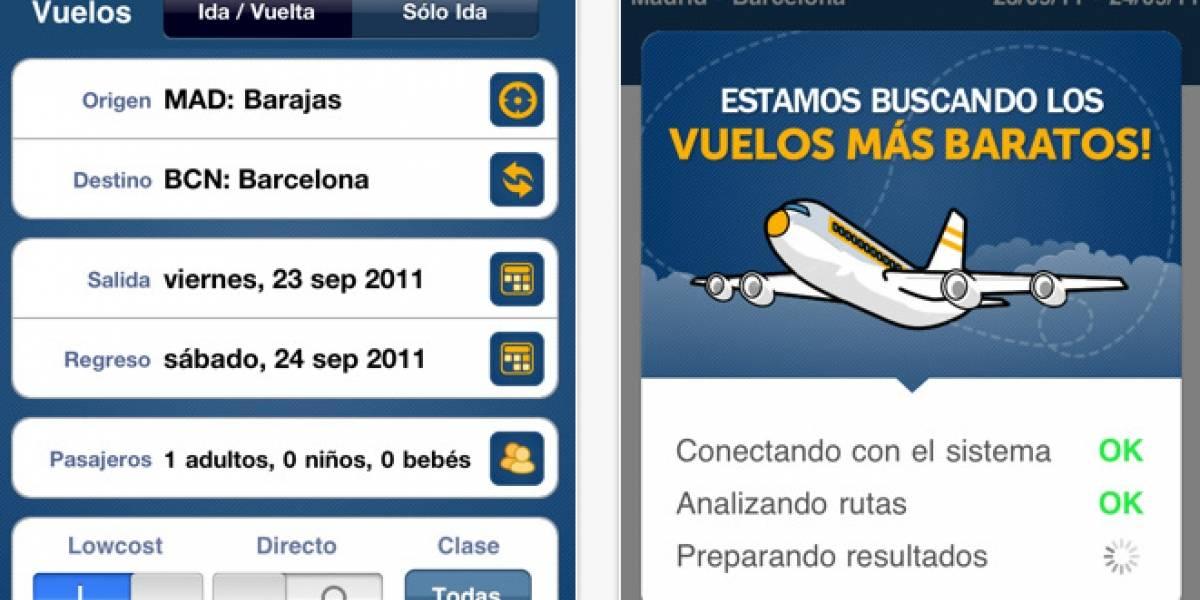 España: Logitravel lanza su aplicación de vuelos para iOS